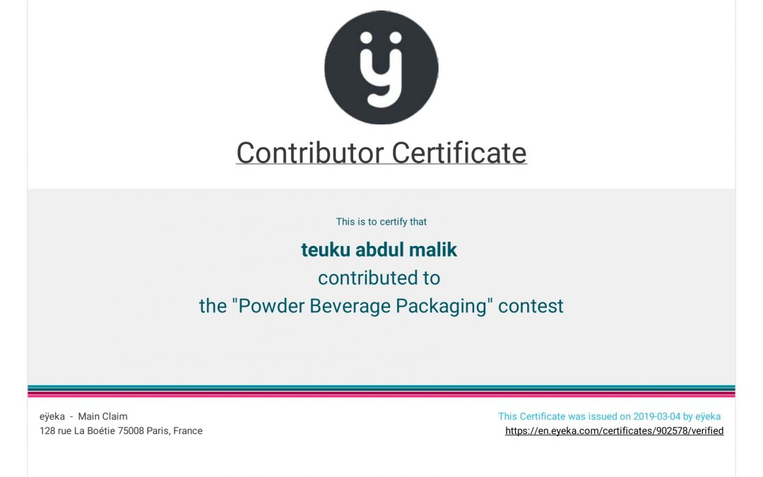"""The """"Powder Beverage Packaging"""" Contest"""