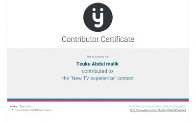 """The """"New TV Experience"""" Contest"""